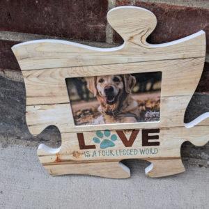 Puzzle photo dog